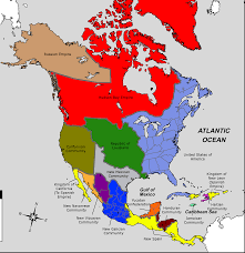 Spanish Map Of North America by North America 1900 Ad Worldbuilding