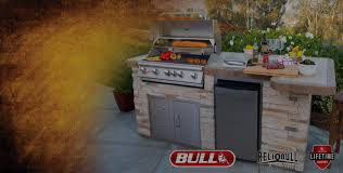 Bull Outdoor Kitchen Texas Pastos And Concrete Stainless Steal Outddor Grills And