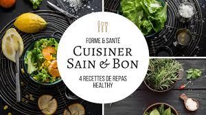 cuisiner sain forme santé l cuisiner sain bon