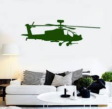 vinyl wall decal helicopter air force boys kids room stickers vinyl wall decal helicopter air force boys kids room stickers ig4113