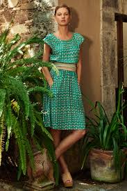 maeve clothing lyst maeve evaline dress in green