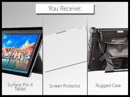 Surface Pro Rugged Case New Rugged Microsoft Surface Pro Laptop Tablet Bundle Case