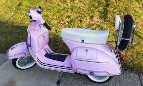 vespa sprint vlb from 1968 in pink your vespa