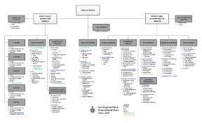 organizational chart york regional police