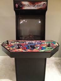 Building A Mame Cabinet 4 Player Arcade Cabinet Kit Mf Cabinets