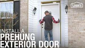 Prehung Exterior Door How To Install A Prehung Exterior Door