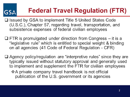 Kentucky joint travel regulations images Advance federal travel regulation ftr update temporary duty jpg