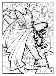 thor coloring pages thor coloring pages printable u2013 kids coloring