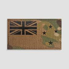 New Zeland Flag New Zealand Flag Velcro Patches Perroz Designs