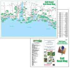 Panama City Beach Florida Map by Golf Maps Fore Better Golf Inc
