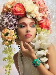 flower hair 443 best flowers in hair images on flowers