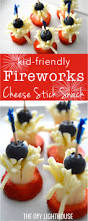 fourth of july fireworks cheese stick snack fun fruit snacks