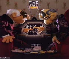 Waldorf And Statler Meme - statler and waldorf in kiss makeup pictures