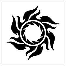 art tribal sun tattoo designs tribal sun tattoos tribal sun and