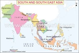 south asia countries map map of south east asia nations project throughout southern