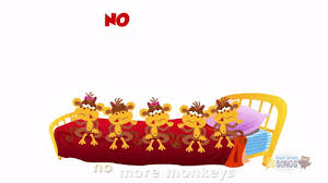 No More Monkeys Jumping On The Bed Song Five Little Monkeys Jumping On The Bed By Eileen Christelow