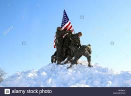Marines Holding Flag Flag Raising On Iwo Jima Stock Photos U0026 Flag Raising On Iwo Jima