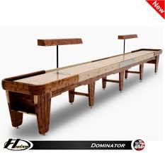 Shuffle Board Tables 18 U0027 Dominator Shuffleboard Table Shuffleboard Net