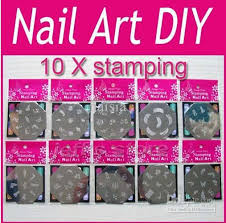 10x nail art stamp stamping image template plate diy nail art