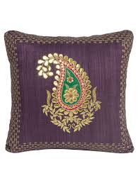 buy wine ghicha silk gota and applique work with zardozi
