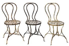 chaises en fer forgé chaise en fer forgé vintage pour hôtellerie modèle marsella