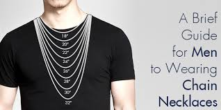 pendant necklace lengths images A brief guide for men to wearing chain necklaces jpg