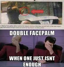 Double Facepalm Meme - double facepalm military humor