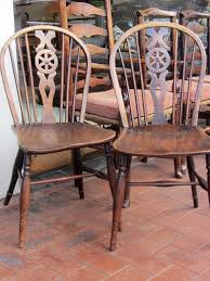 Antique English Windsor Chairs Allpress Antiques Furniture Melbourne Victoria Australia