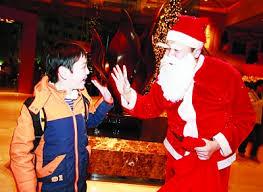 how do in china celebrate 中国人怎么过圣诞节