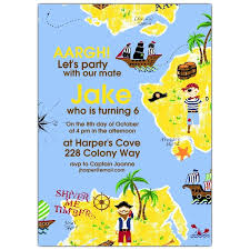 treasure island birthday invitations paperstyle