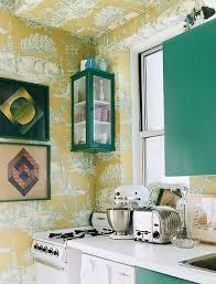 wallpaper in kitchen ideas best 25 yellow kitchen wallpaper ideas on teal