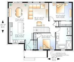 open concept bungalow house plans open bungalow floor plans enjoyable ideas 4 modern open concept