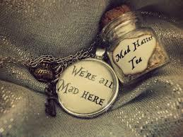 necklace charm diy images Alice in wonderland bottle charm metal charm necklace diy jpg