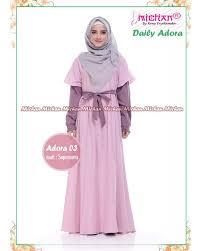Baju Muslim Wanita gamis michan daily adora 03 baju muslim wanita baju muslimah