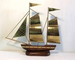 boat sculpture etsy