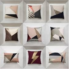 coussins canapé coussins design coussins canapé de luxe et géométrique maison
