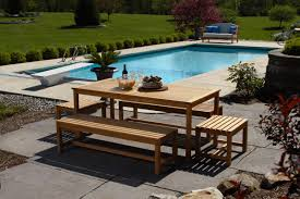 Plans For Patio Table by Bench Outdoor Table And Bench Mindsight Outdoor Bistro Chairs