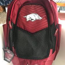 Arkansas Backpacks For Travel images Nike bags razorback backpack poshmark jpg