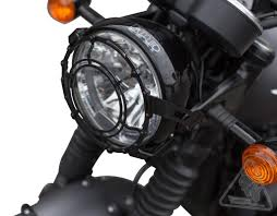 sw motech steel headlight guard for triumph bonneville t120 u002716