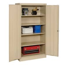 Tennsco Bookcase Cabinets Storage Tennsco Metal Storage Cabinet 36x24x72 Sand