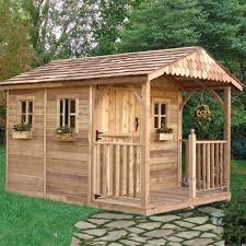 outdoor living today sr812 santa rosa 8 x 12 ft garden shed