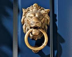 lion door knocker sonoma home lion door knocker