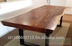 Acacia Wood Dining Room Furniture Live Edge Acacia Wood Dining Table Slab Buy Live Edge