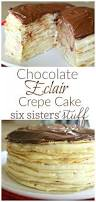 chocolate eclair crepe cake recipe simple dessert recipes