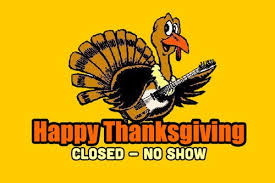 closed thanksgiving day no show tickets sam s burger joint