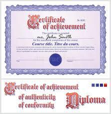blue certificate template horizontal stock vector image 42299853