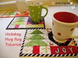 Quilted Mug Rug Pattern 1352 Best Quilting Mug Rugs U0026 Mini U0027s Images On Pinterest Table