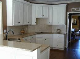 Kitchen Cabinet Solid Surface Neutral Quartz Countertops Paired With White Cabinets Quartz