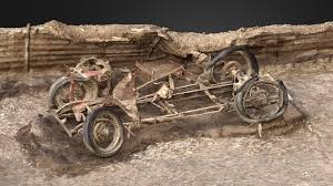 mg british archaeologists unearth 1932 mg in world war ii artillery