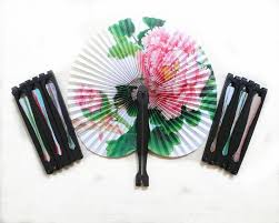 cheap paper fans wedding fans small fans advertising and promotional folding